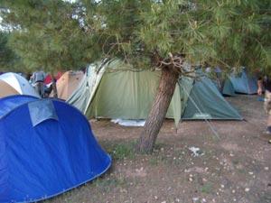 Normas para la acampada en Vigilia y Romería
