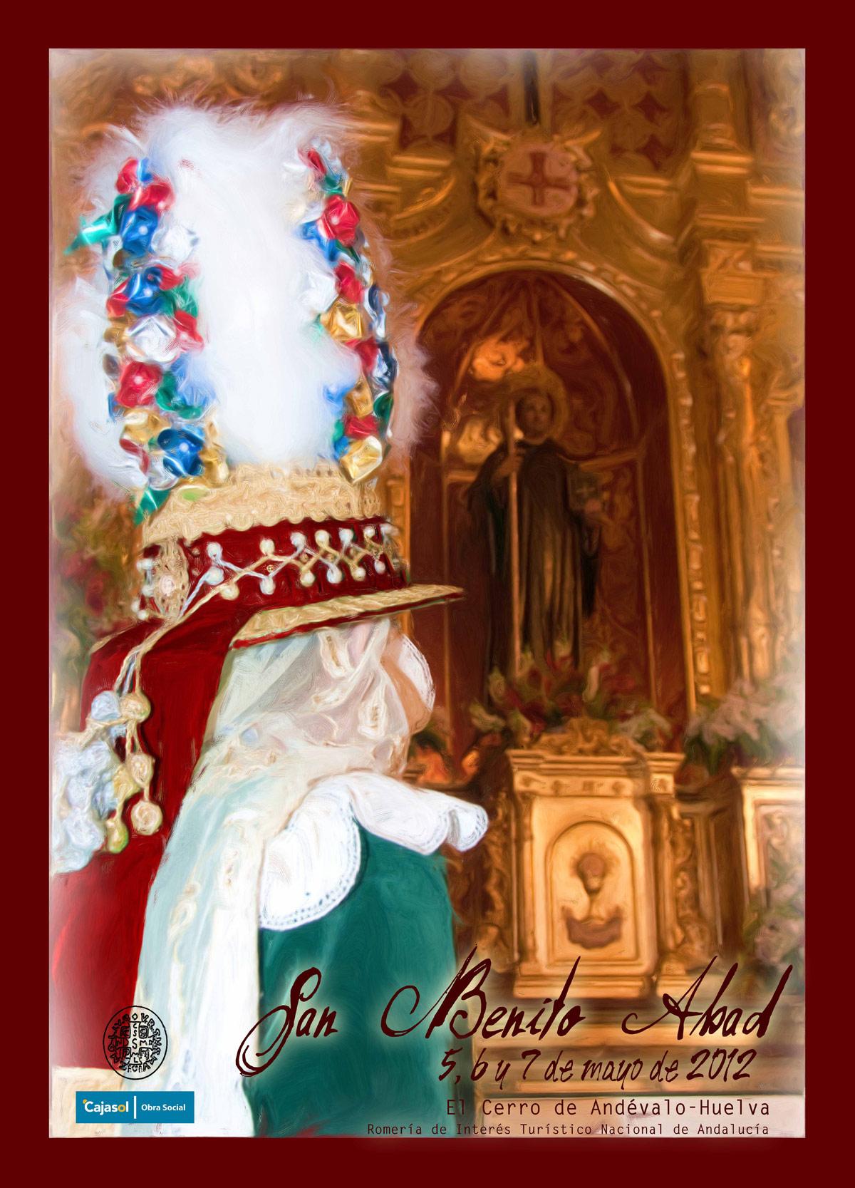 Cartel Anunciador de la Romería 2012