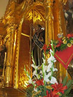 Patrón San Benito Abad