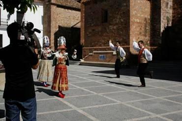 Un equipo de la Televisión de Castilla y León visita la Huelva más desconocida